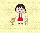 دانلود تم CHIBI MARUKO CHAN برای لاین بصورت رایگان